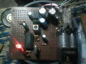 Rakitan Receiver 140-170 MHz dengan MC3357